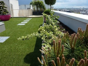 Le jardin-terrasse