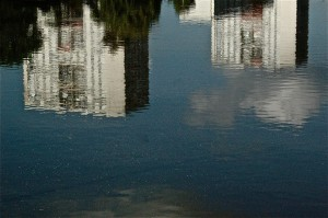 La ville inondée