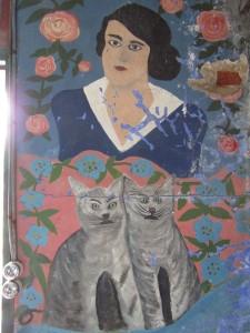 Adrienne  et ses chats