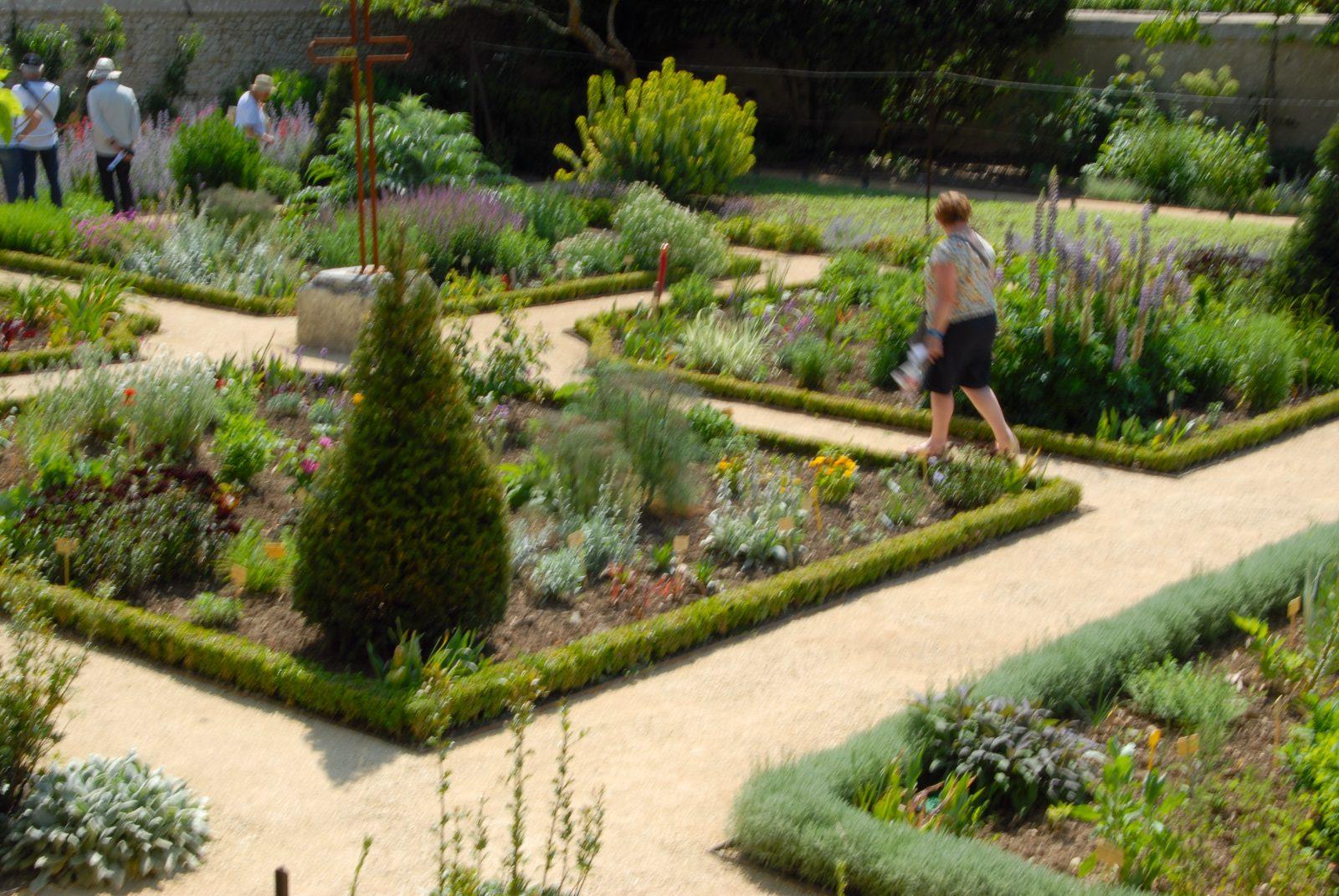 Dans l\'enclos de la cure de Chédigny, un jardin témoigne du ...