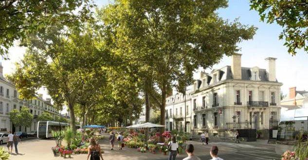 Avec le tram, un nouveau futur pour le boulevard Béranger à Tours !
